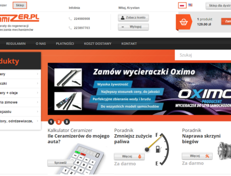 Sklep internetowy Ceramizer.pl